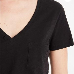 Madewell cotton V-neck cotton tee